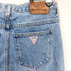 Vintage 80's High Waisted Mom Jeans Original Guess